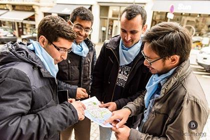 activite seminaire rallye pieton biarritz