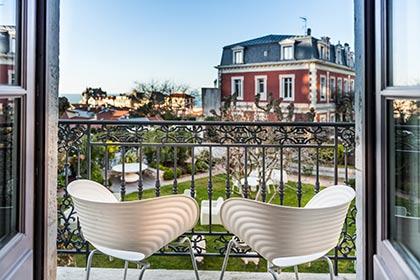 hotel seminaire biarritz vue